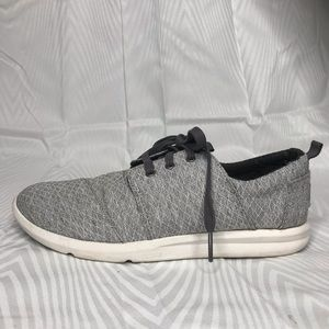 Toms Del Ray Grey Sneakers Size 7.5